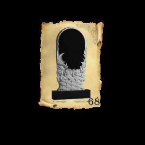 Объемные памятники 3D. Памятник с тумбой и оформлением из цветного гранита и мрамора в Севастополе и Республике Крым. Фигурная резка. Размеры: 80х40х5 80х40х8 100х50х8 120х60х8. Подробнее на сайте: https://памятниктут.рф